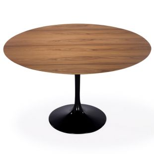 Table Ronde Tulipe en Bois