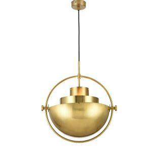 Transformation modeling semicircle pendant lamp