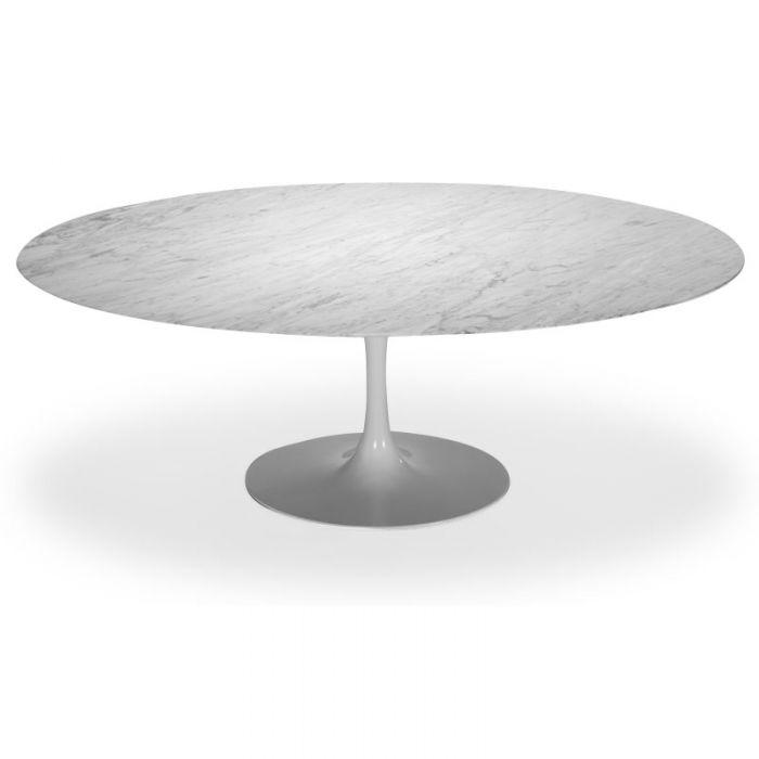 Table Ovale Tulipe En Marbre Inspiration De Eero Saarinen